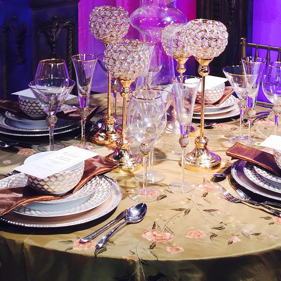 Arreglos de mesa sugeridos para la boda de Sofía Vergara