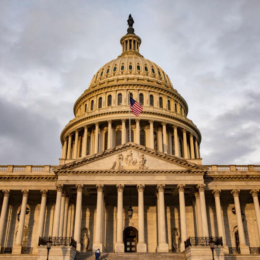 El Capitolio de Estados Unidos en Washington D.C.