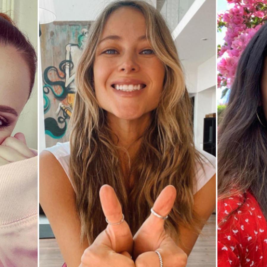 Shaila Dúrcal, Vanessa Huppenkothen y Zoe Saldana