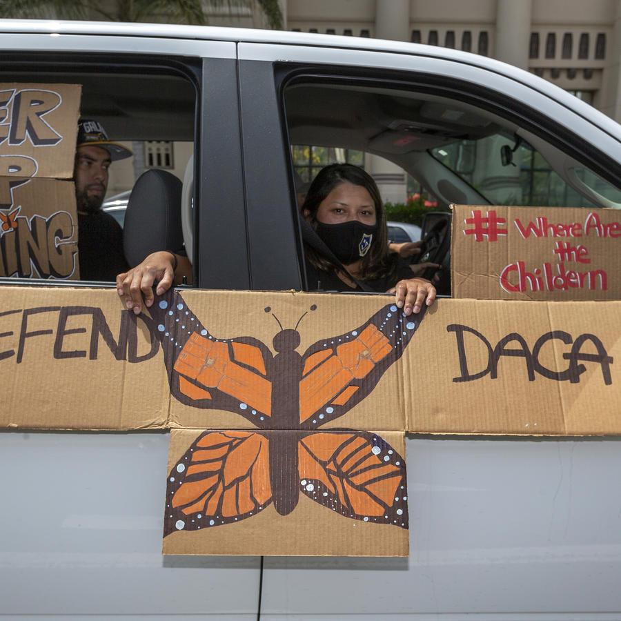 Una familia inmigrante en Los Ángeles