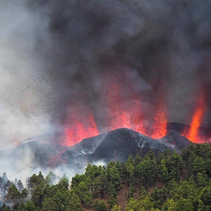 Erupción volcan La Palma