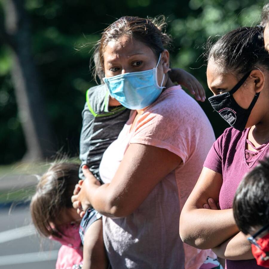 Familia inmigrante