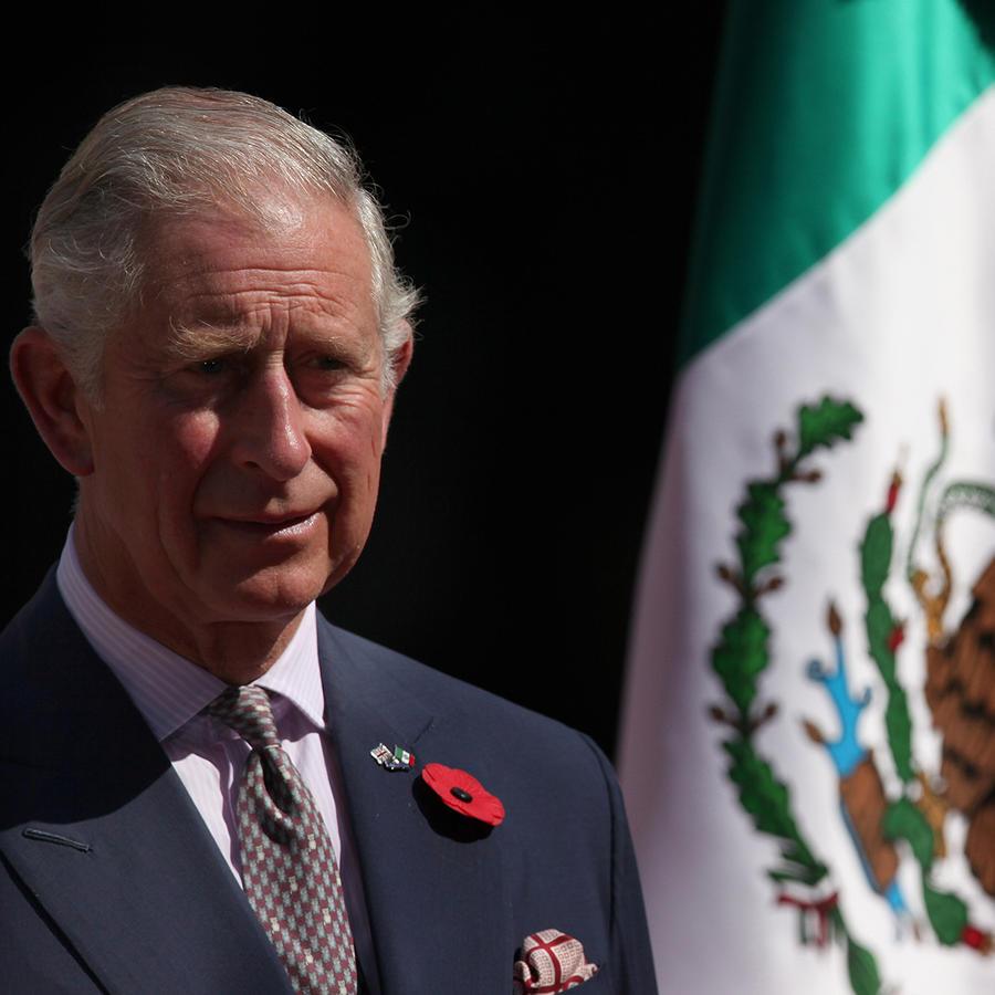 El príncipe Carlos de Inglaterra visita México