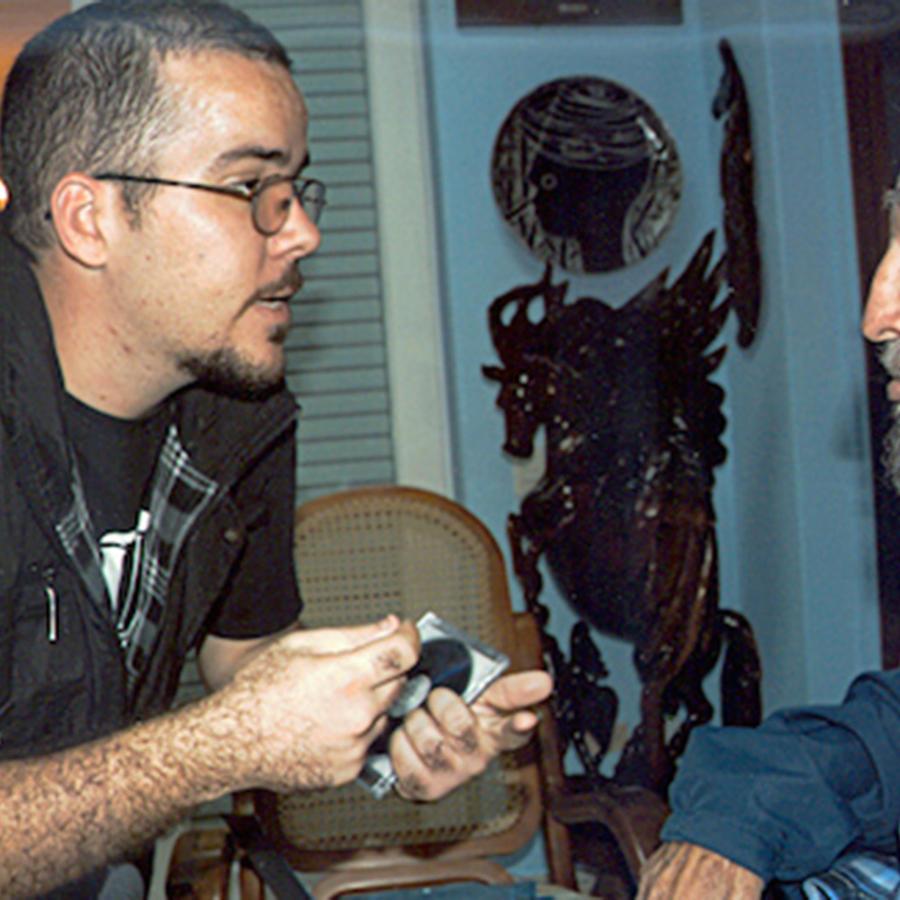 fidel castro reunido con presidente de feu