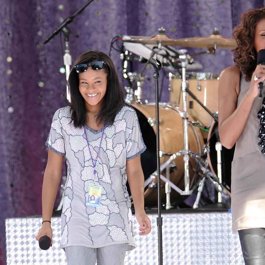 Whitney Houston con su hija Bobbi Kristina Brown
