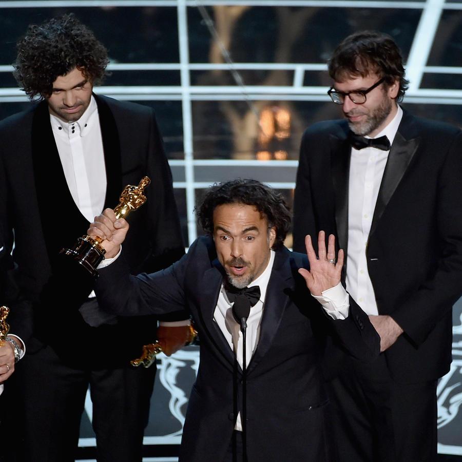 Alejandro González Iñárritu, mejor director de los premios Oscar 2015.