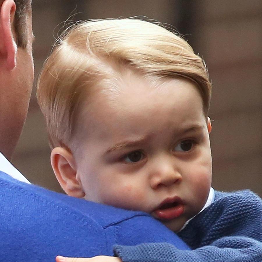 principe george con su padre
