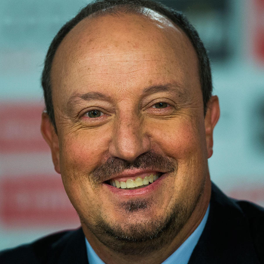 rafa benitez entrenador real madrid