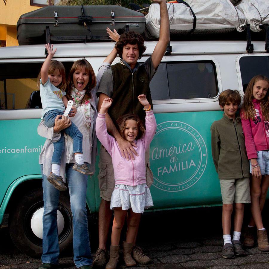 familia argentina viaja para conocer al papa