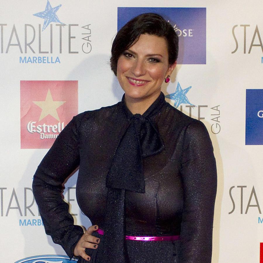 Laura Pausini asiste a la Starlite Gala en España