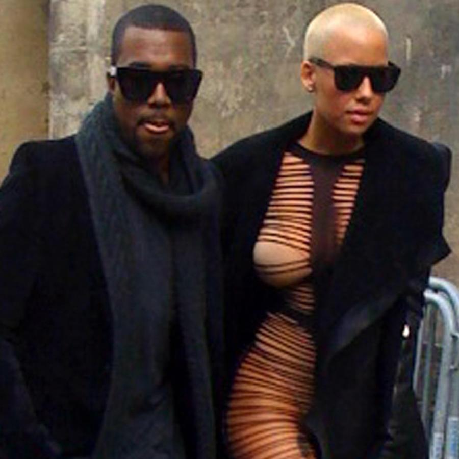 Amber Rose y Kanye West