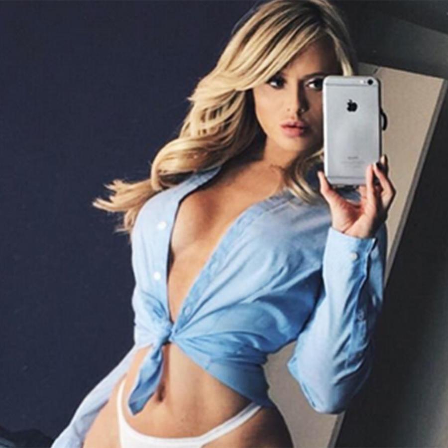 Selfie de Katie May, 'Reina de Snapchat'