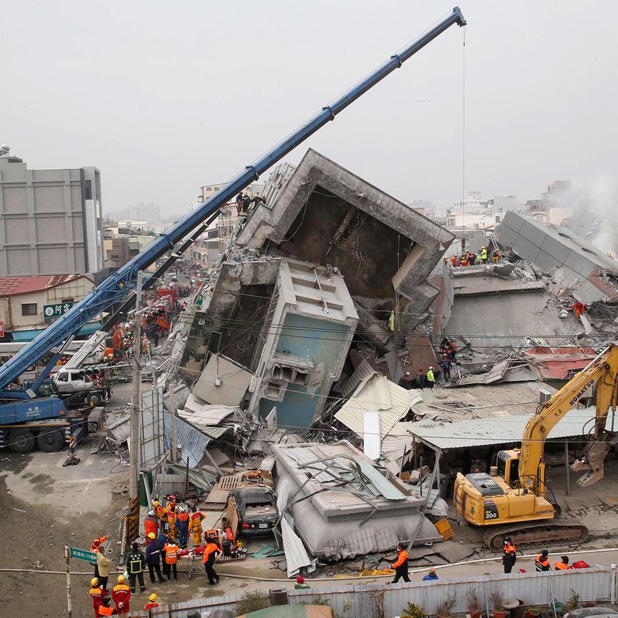 terremoto sacude taiwan