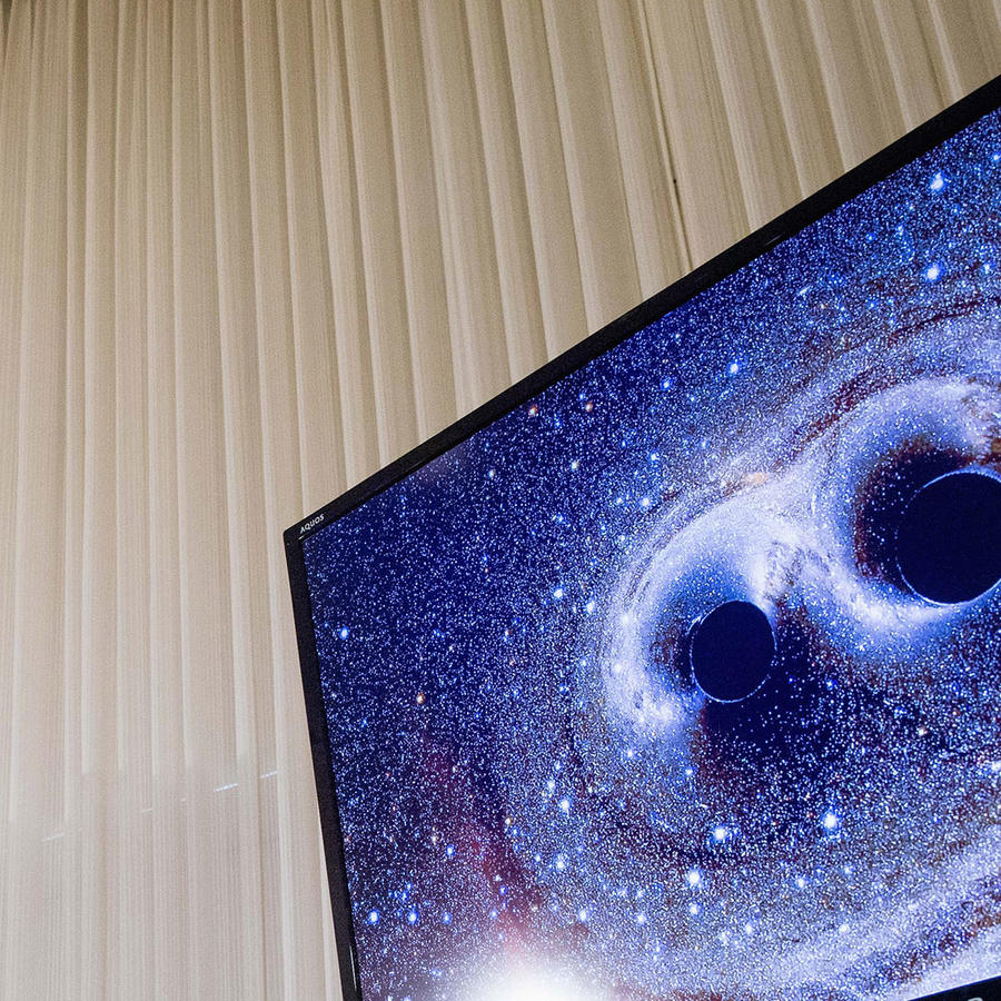 ondas gravitacionales en presentacion ligo
