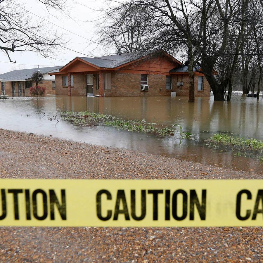 Inundaciones en Louisiana y Mississippi