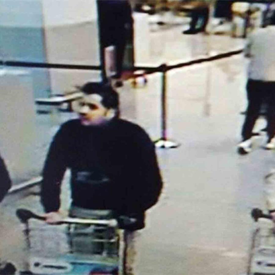 posibles sospechosos de los ataques en Bruselas