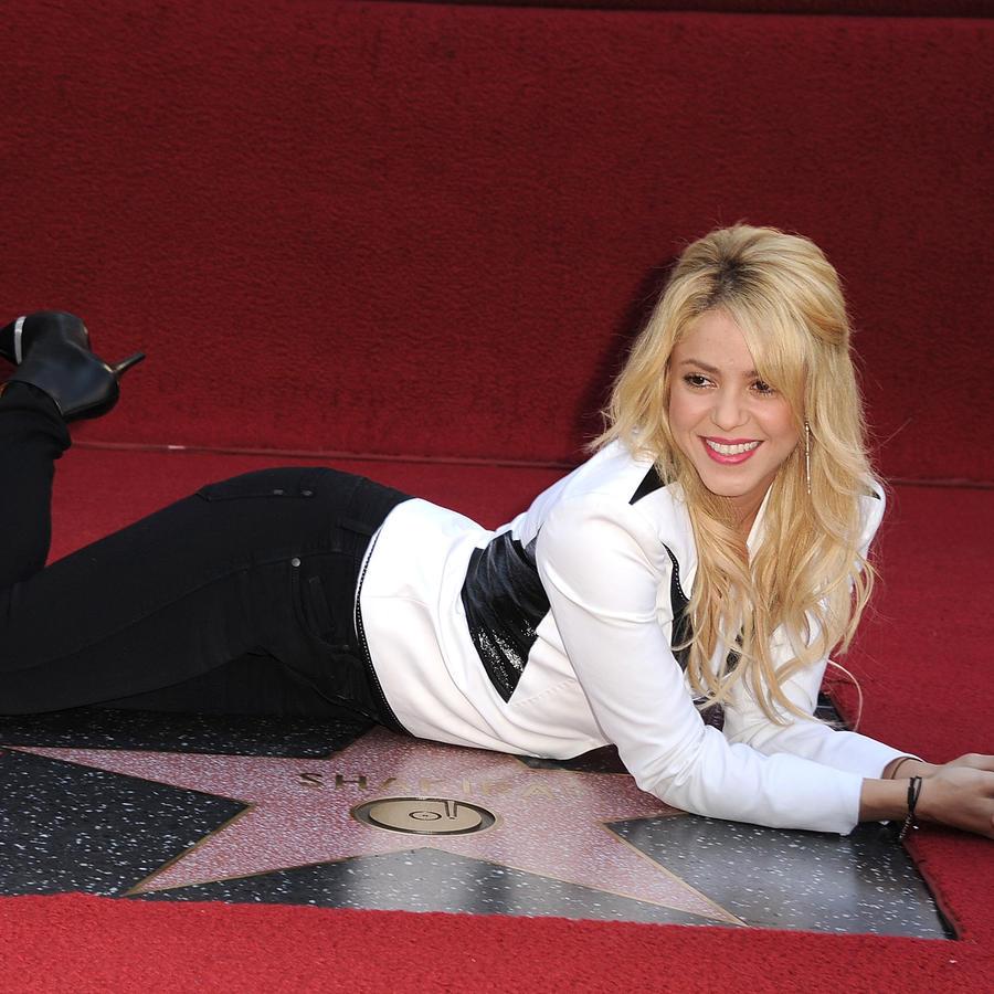 Shakira Hollywood Walk Of Fame Induction Ceremony