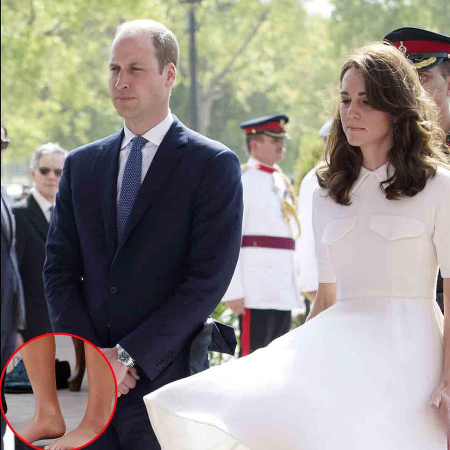 Kate Middleton y príncipe William en India
