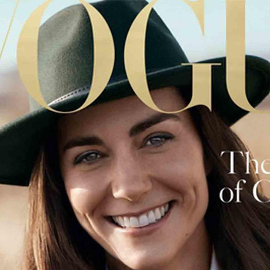 Kate Middleton en la portada de 'Vogue'