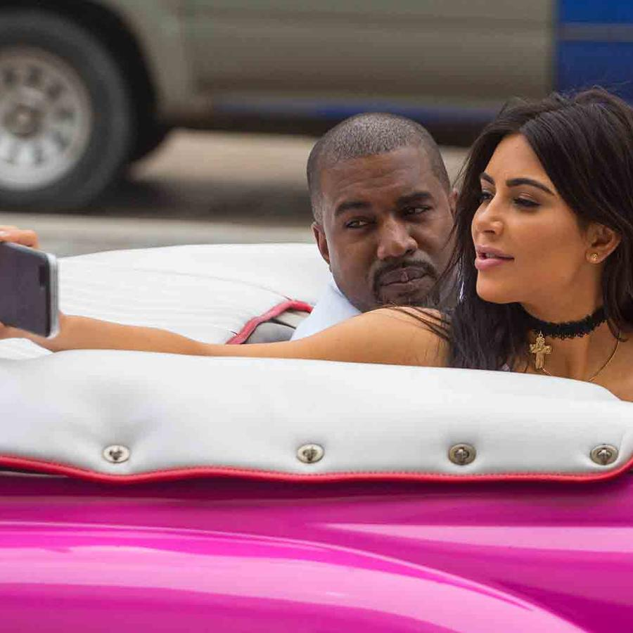 Kim Kardashian y Kanye West en Havana, Cuba