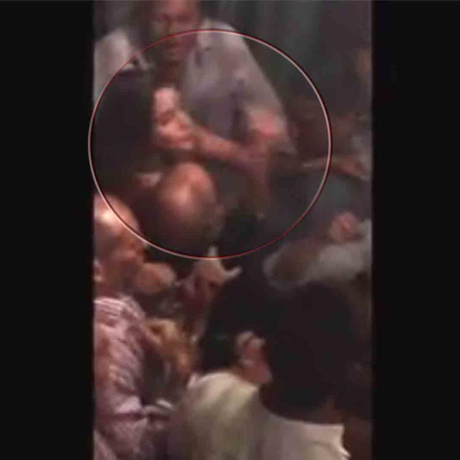 Sofía Vergara en una pelea en Cartagena