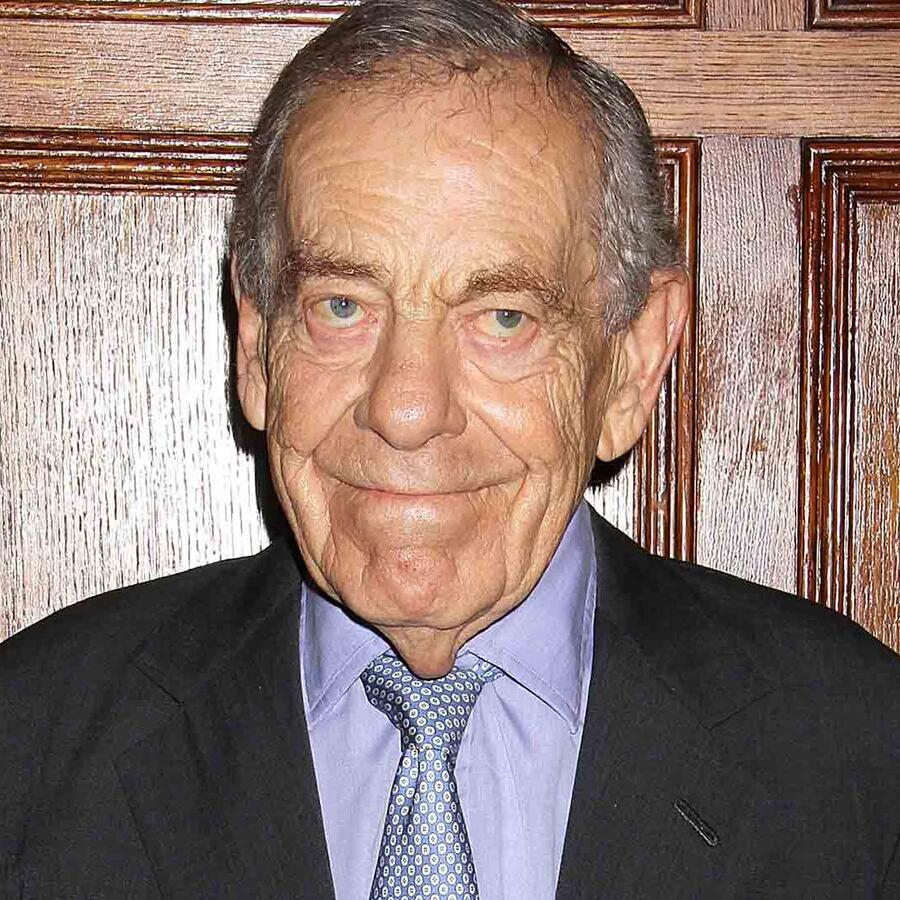 Morley Safer en el evento Giants of Broadcasting Honors 2013