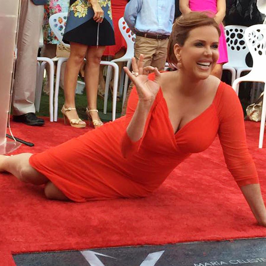 María Celeste recibe estrella en Paseo de la Fama de Puerto Rico