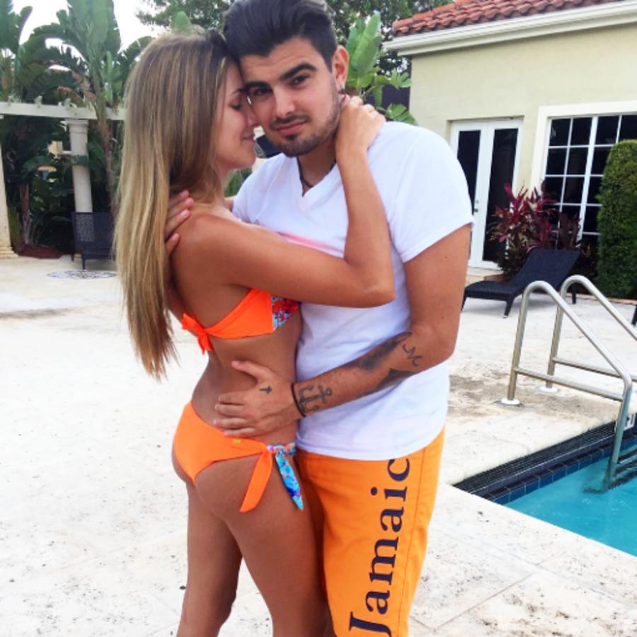 Jonathan Moly y Alicia Villarroel