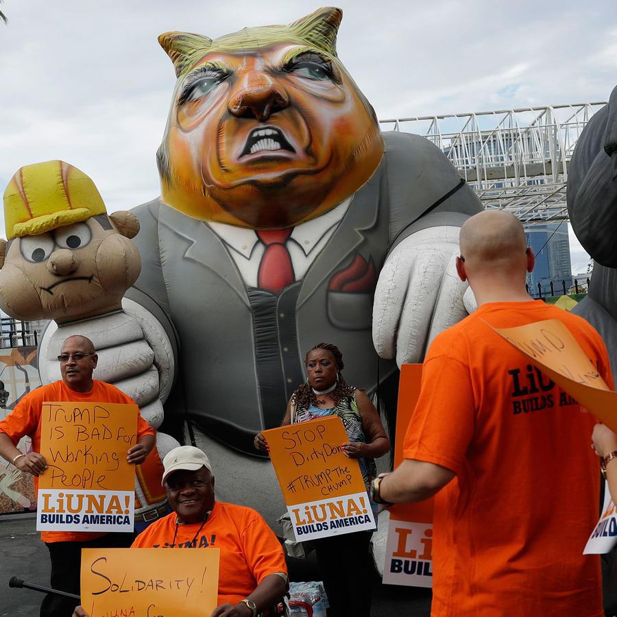 Boicot a empresas de Trump