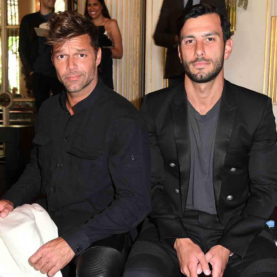 Ricky Martin y  Jwan Yosef Fashion Week