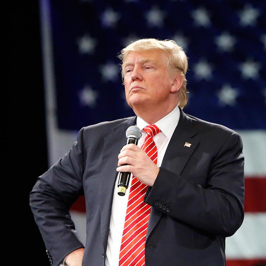 Trump en un acto de campaña en Tampa, Florida el 14 de marzo del 2016