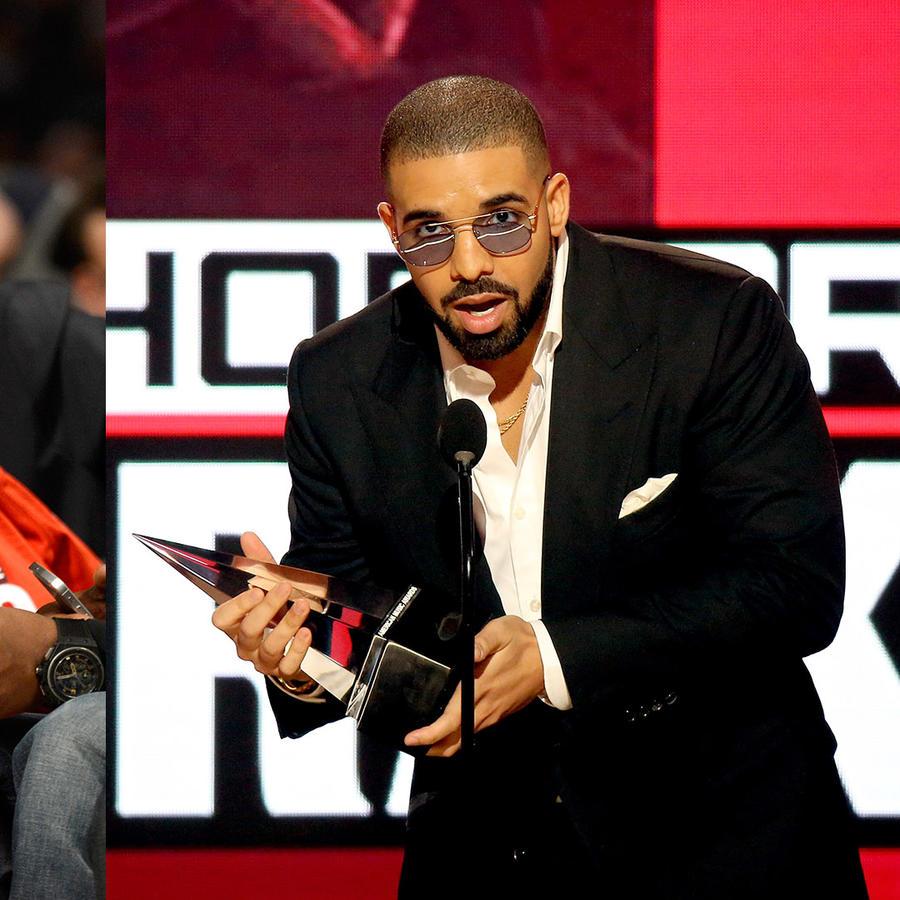 Drake throws shade in his AMAs speech