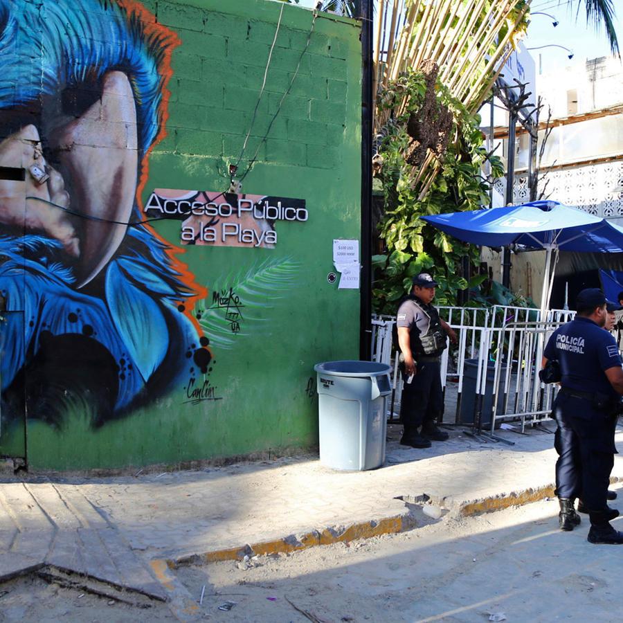 La discoteca Blue Parrot de Playa del Carmen, donde ocurrió el tiroteo