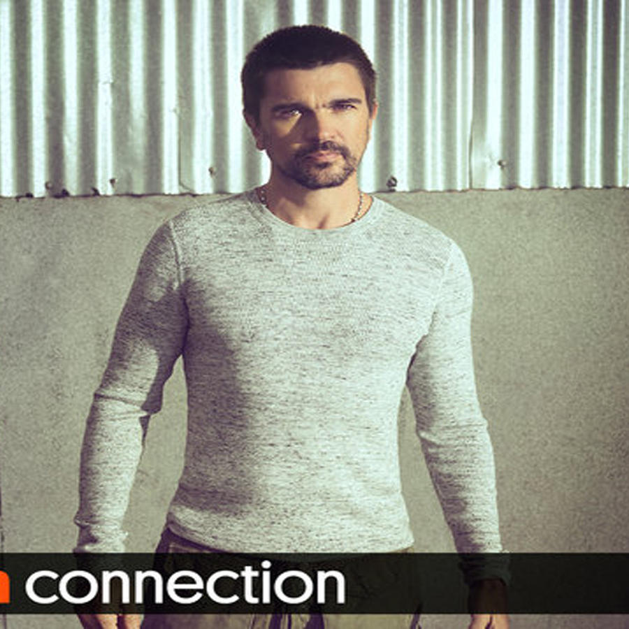 Foto promocional de Juanes en el Latin Connection