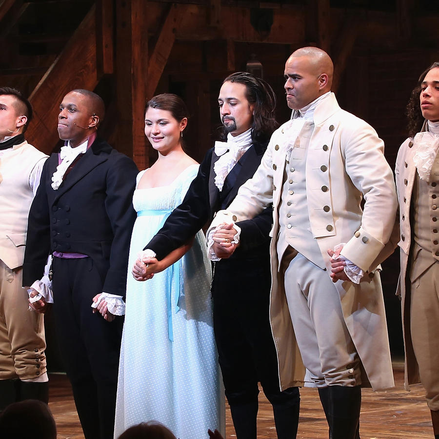 """Hamilton"" Broadway Opening Night en el Richard Rodgers Theatre"