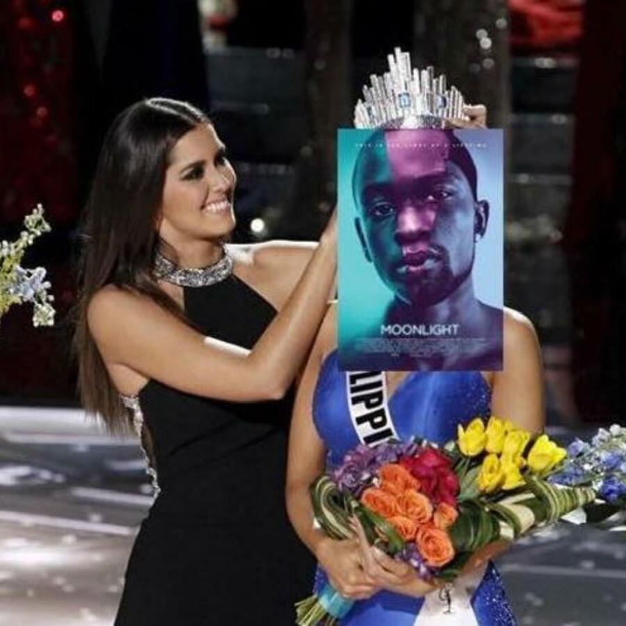Meme sobre el error en la entrega de premios Oscars 2017