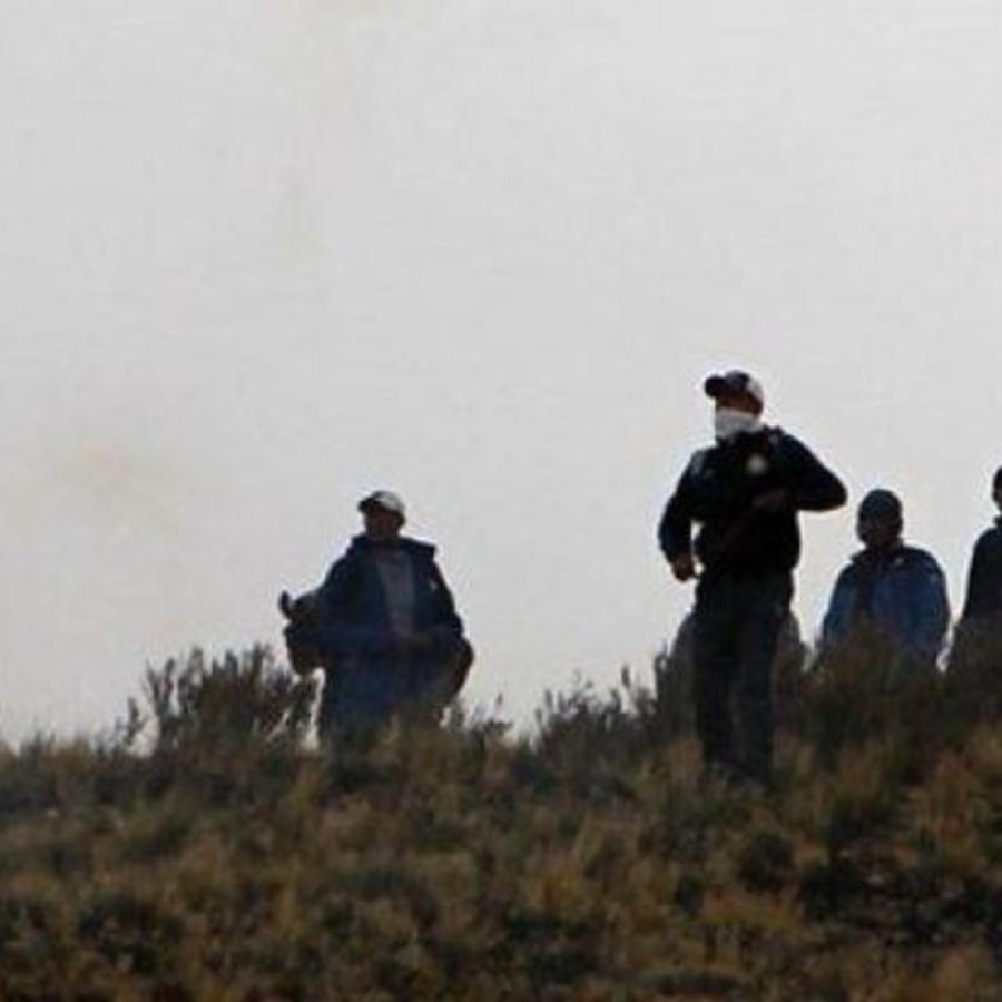 Personas se diponen a hacer un linchamiento en Bolivia