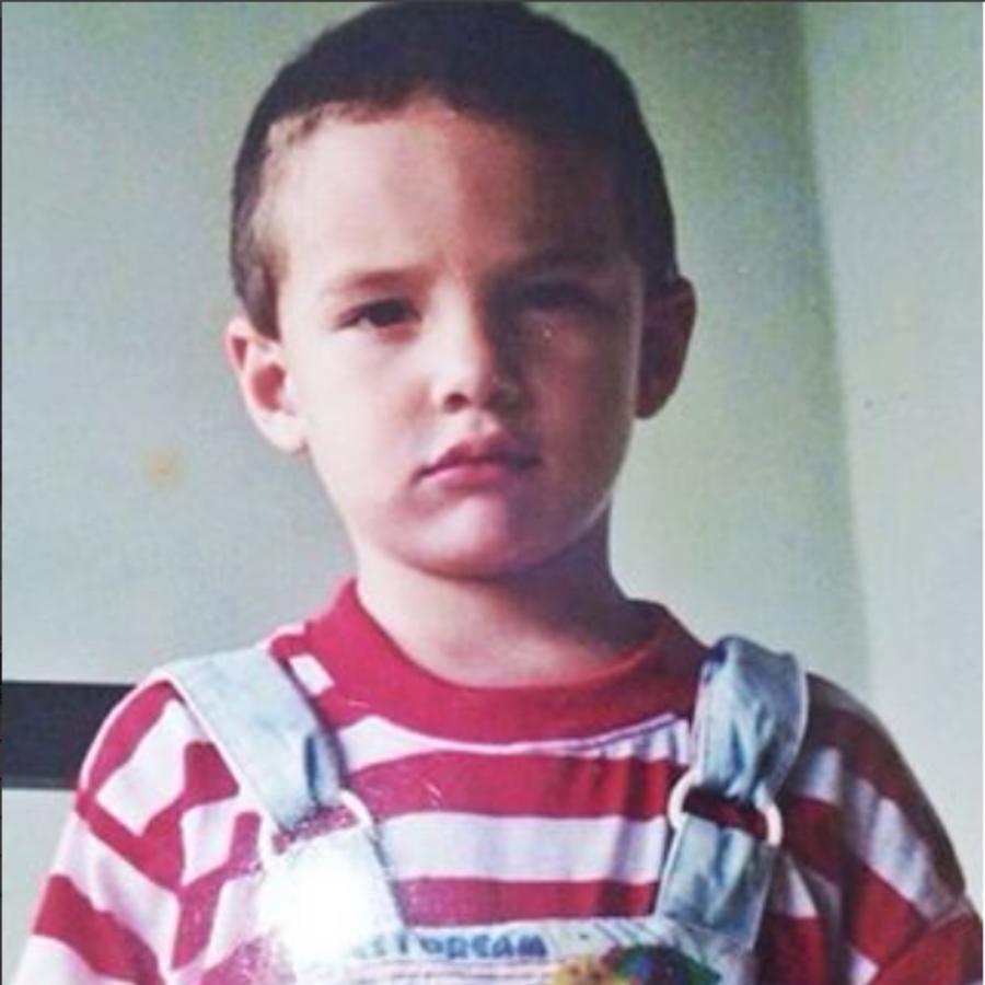 J Balvin de niño
