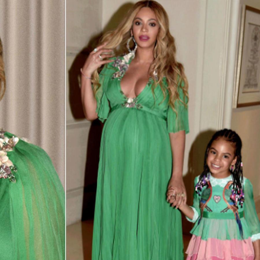 Beyoncé y Blue Ivy acudieron a la premier de La Bella y la Bestia