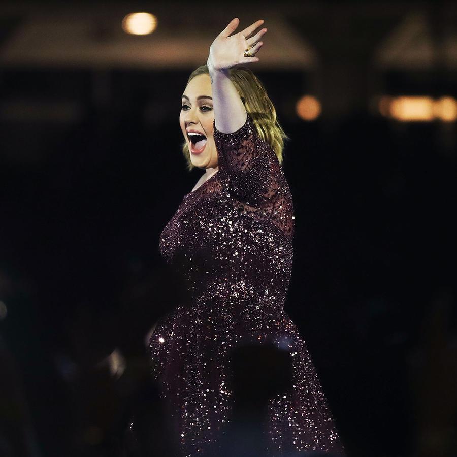Adele en concierto en Sídney, Australia