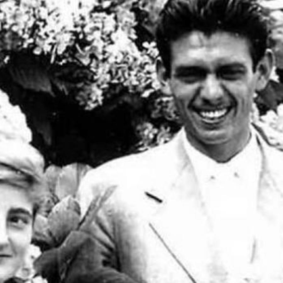 Leoncio González con su esposa la duquesa de Medina-Sidonia