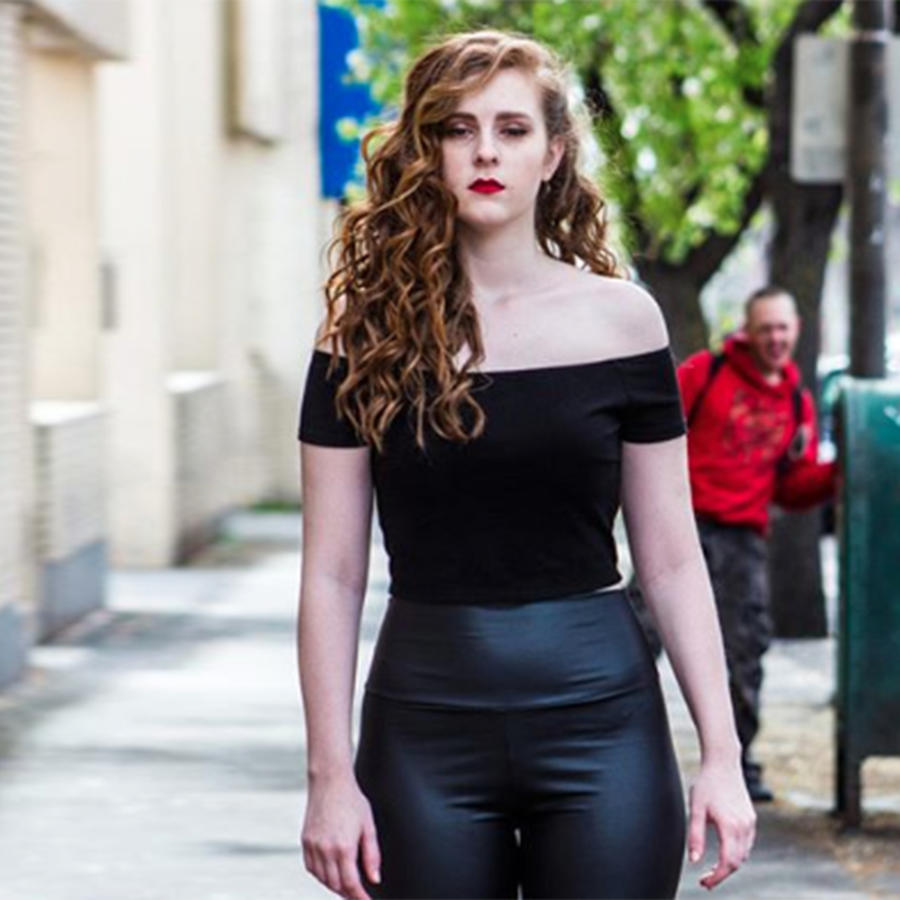 Una modelo sufrió acoso durante una sesión de fotos