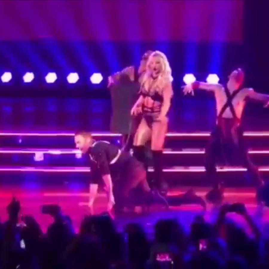 Britney Spears & Howie D en Las Vegas