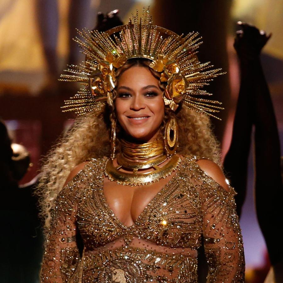 Presentación de Beyoncé en los Grammys 2017