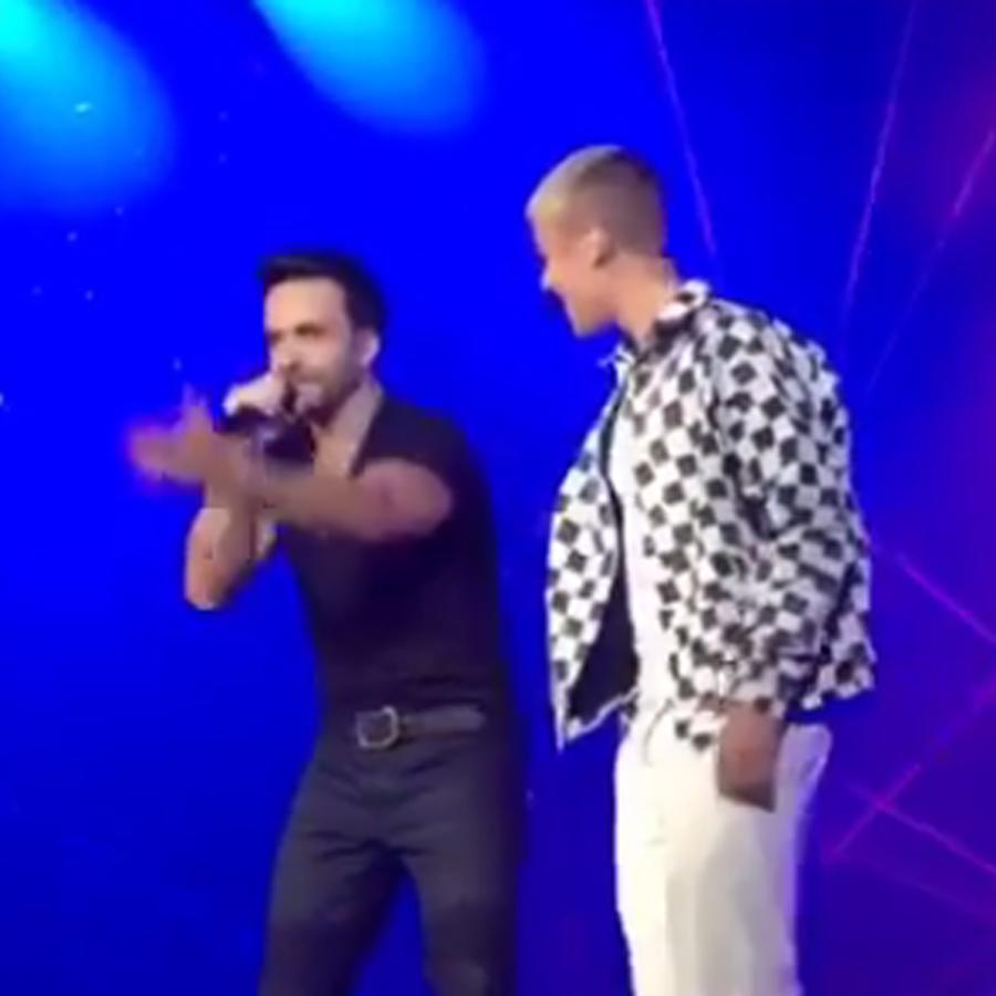Luis Fonsi & Justin Bieber in Puerto Rico