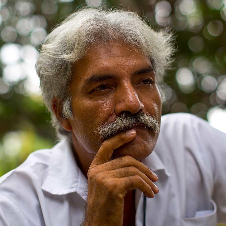 José Manuel Mireles, uno de los fundadores de los grupos de autodefensa que se alzaron en armas en Michoacán, en México