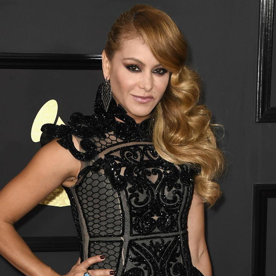 Paulina Rubio en los premios Grammy