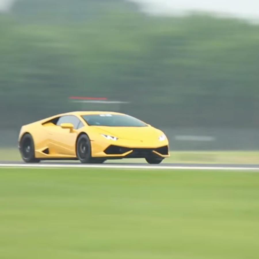 Lamborghini Huracan rompió récord de velocidad.