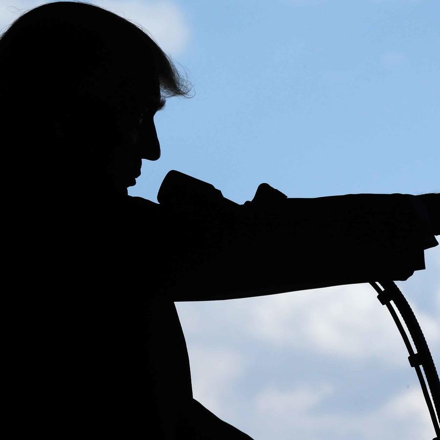 Presidente de EEUU, Donald Trump, se dirige a soldados de base militar de EEUU en Italia