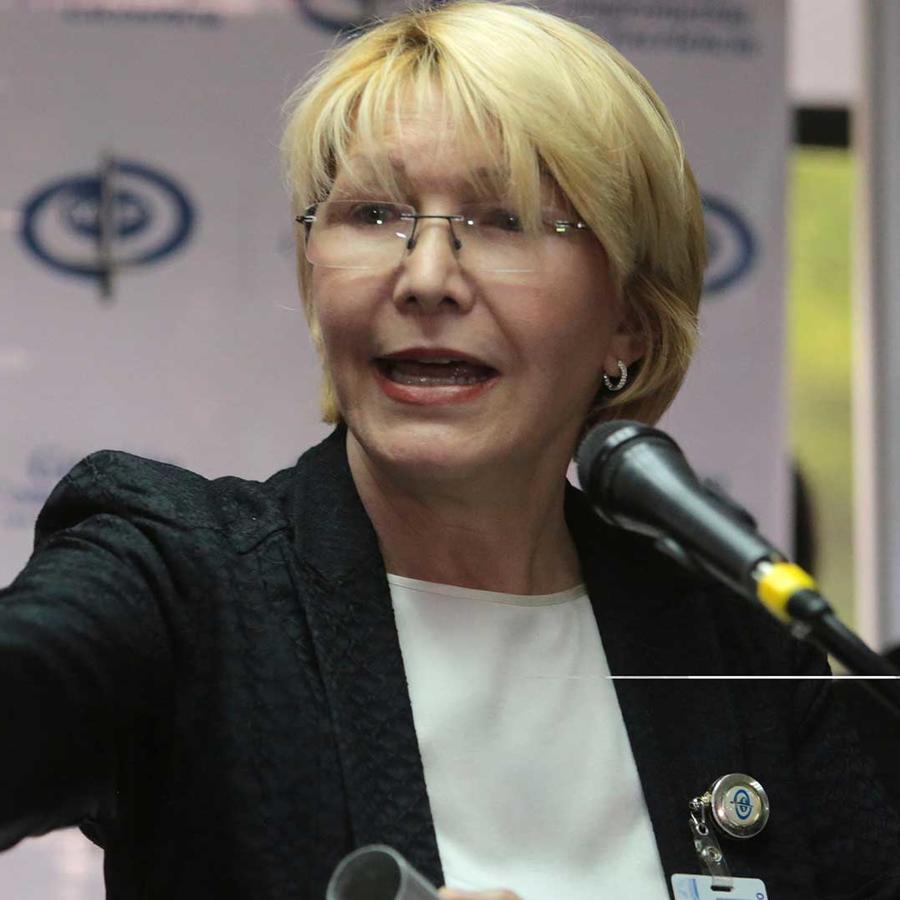 La fiscal general de Venezuela, Luisa Ortega Díaz, en conferencia de prensa el 24 de mayo del 2017